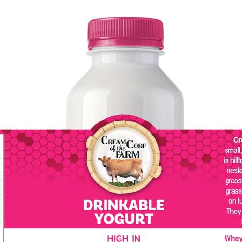 Drinkable yogurt