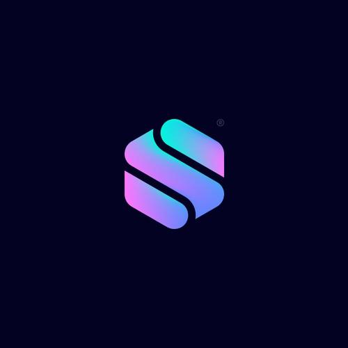 """""""S"""" logo icon concept."""