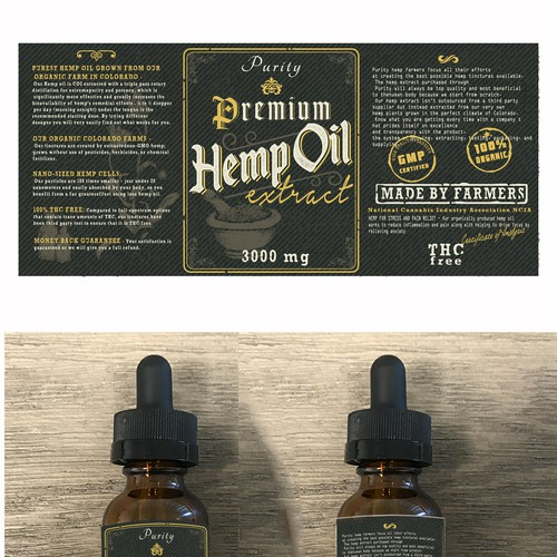 Product label contest entry