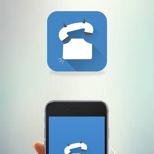 App Icon & Splash for Prank Caller app