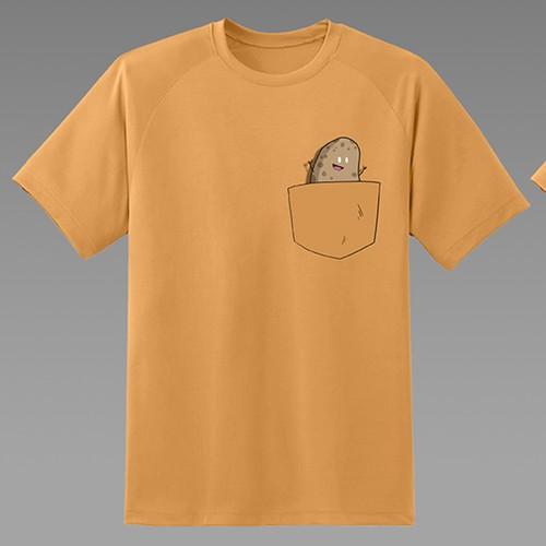 A t-shirt concept for a restaurant