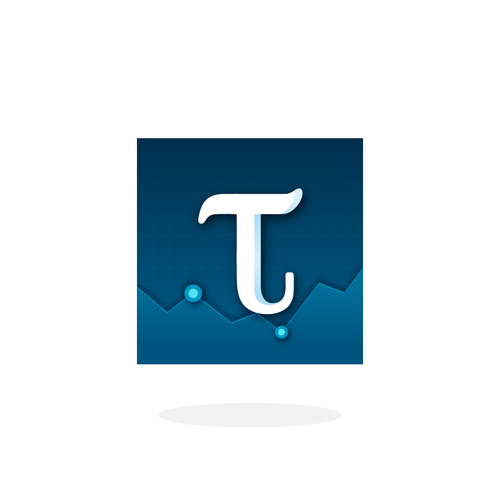 Icon for Ticker Tycoon, a stock market simulation/strategy game for mobile.