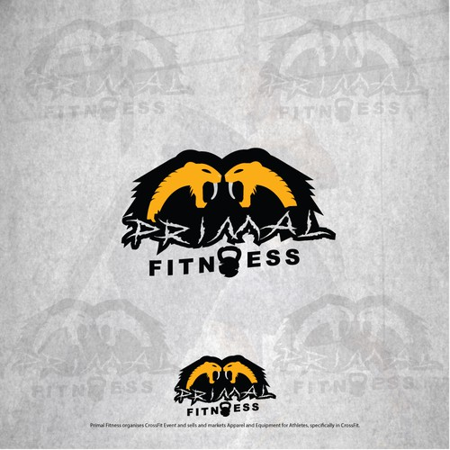 Logo for fittnes company