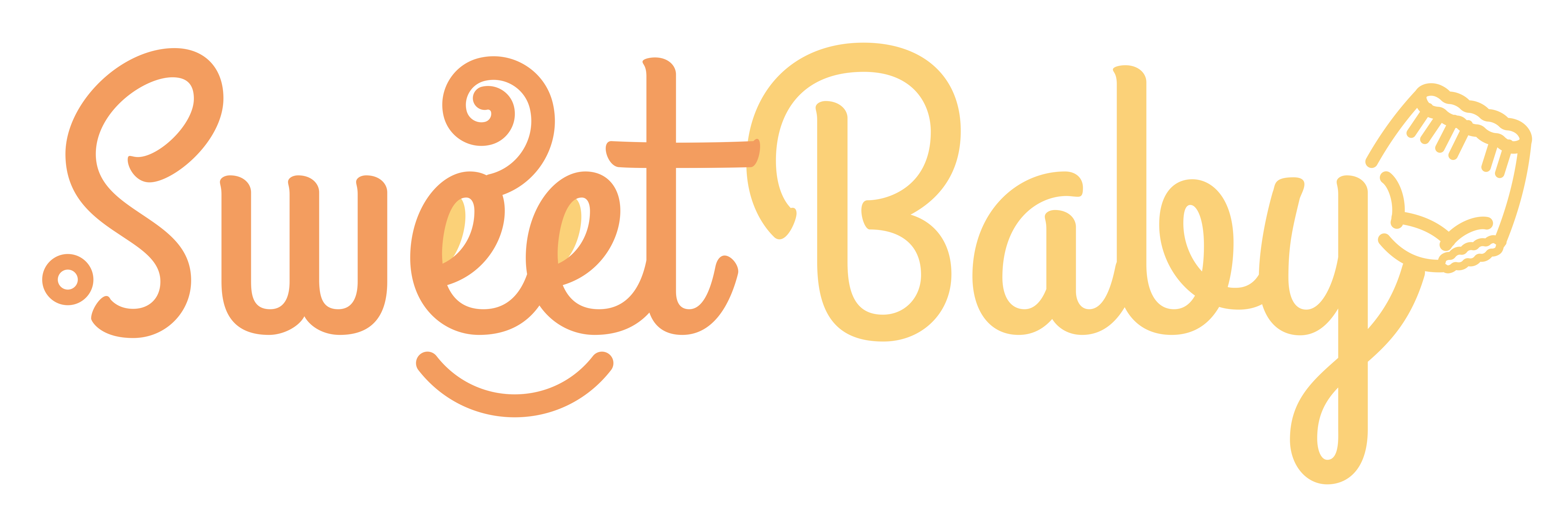 Sweet Baby needs a powerful new logo and a better web page.