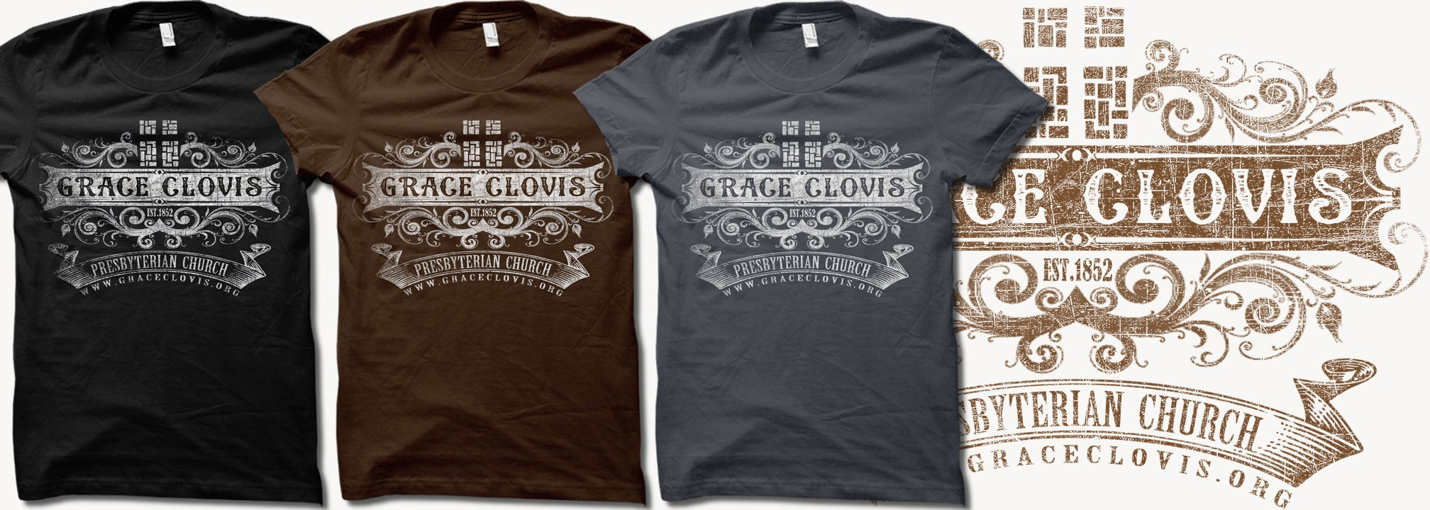 Grace Clovis - Looking for a clean and creative t-shirt design