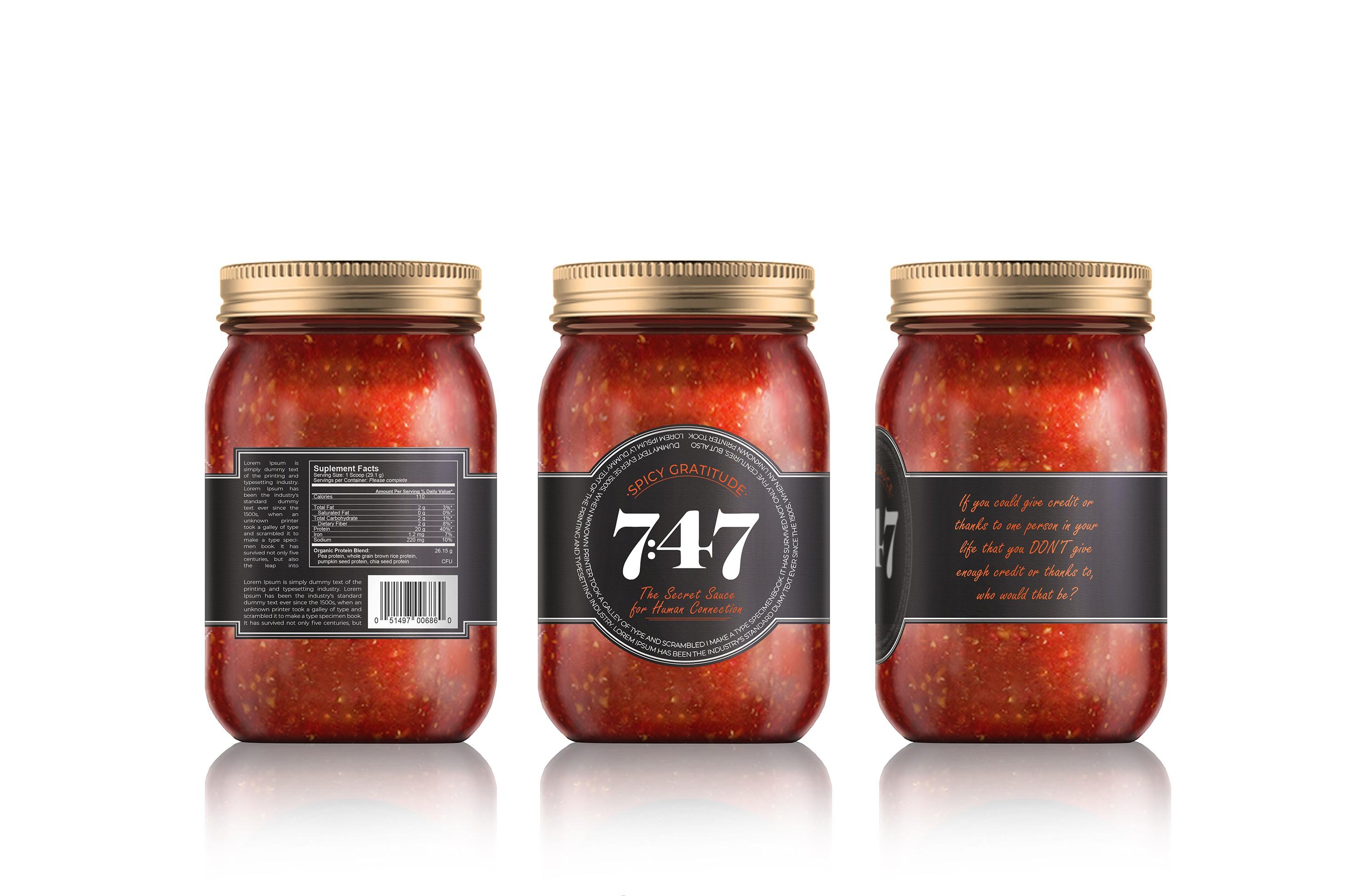 Design a Pasta Sauce Label that sparks human connection