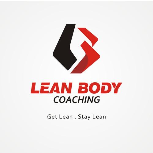 Logo concept for online fitness, nutrition & diet coaching program