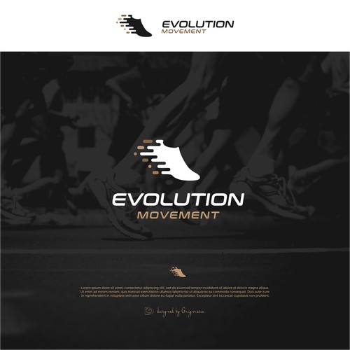 Evolution Movement Minimal Logo