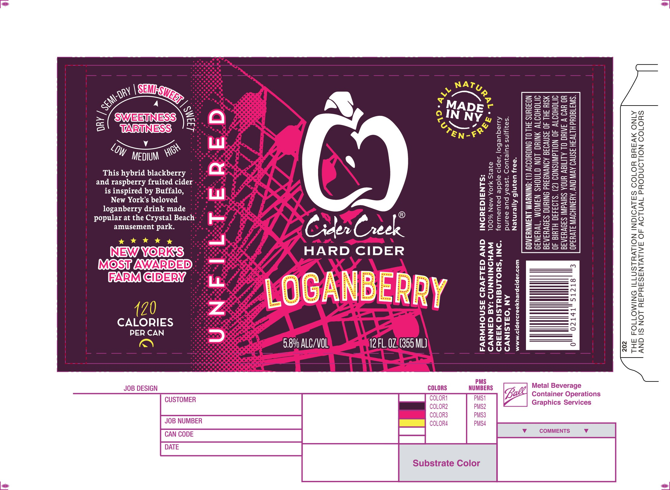 Loganberry Refresh for printed cans
