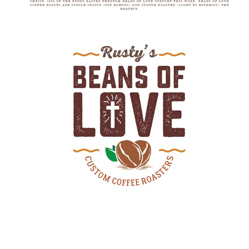 Logo for a coffee product