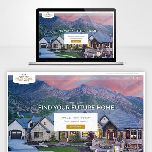 Sleek design for real estate business