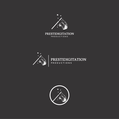 Creative Logo Design for Prestidigitation Production
