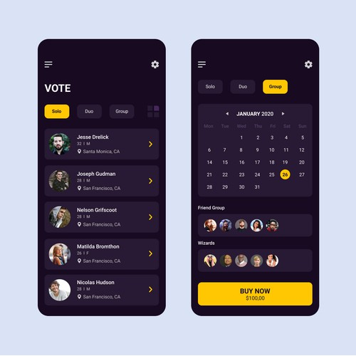 User Interface Design App