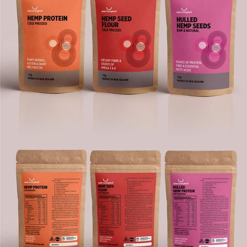 Bag packaging design