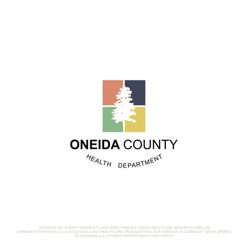 Simple logo for Oneida County