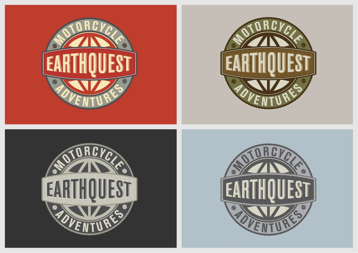 logo for Earth Quest Motorcycle Adventures