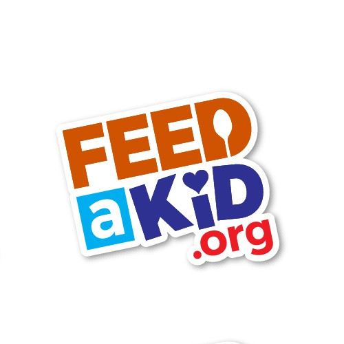 Kid feeding logo