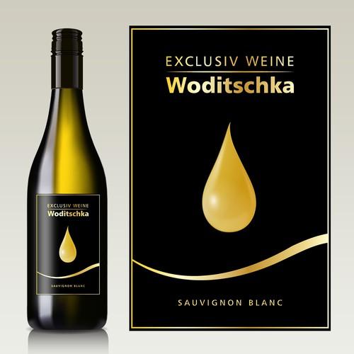 vine label design