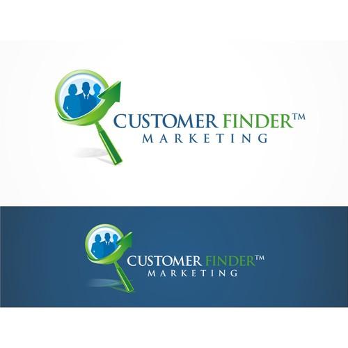 Customer Finder Marketing needs a new logo