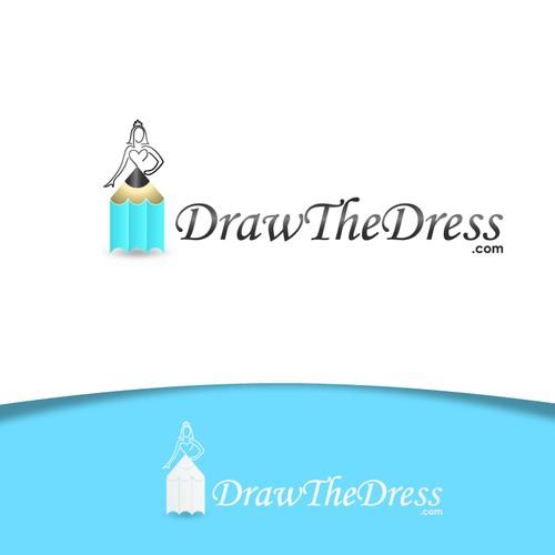 LOGO NEEDED for 'DRAW THE DRESS' .com