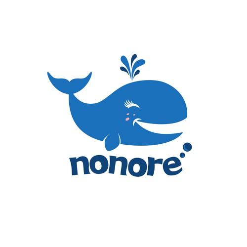 NoNore the Whale Logo