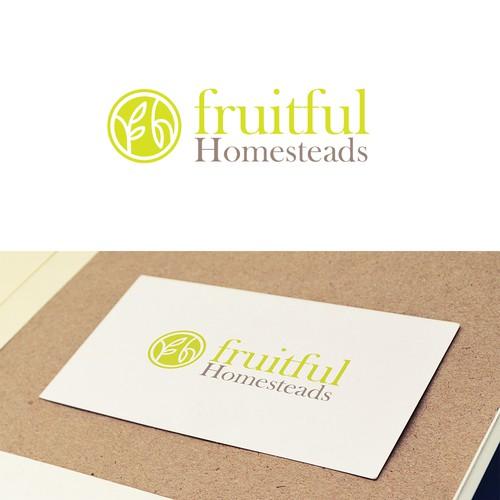elegant logo for gardening and landscaping