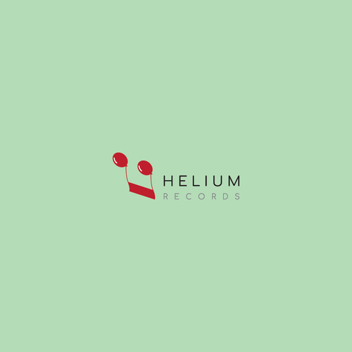 A logo design concept for a recording label