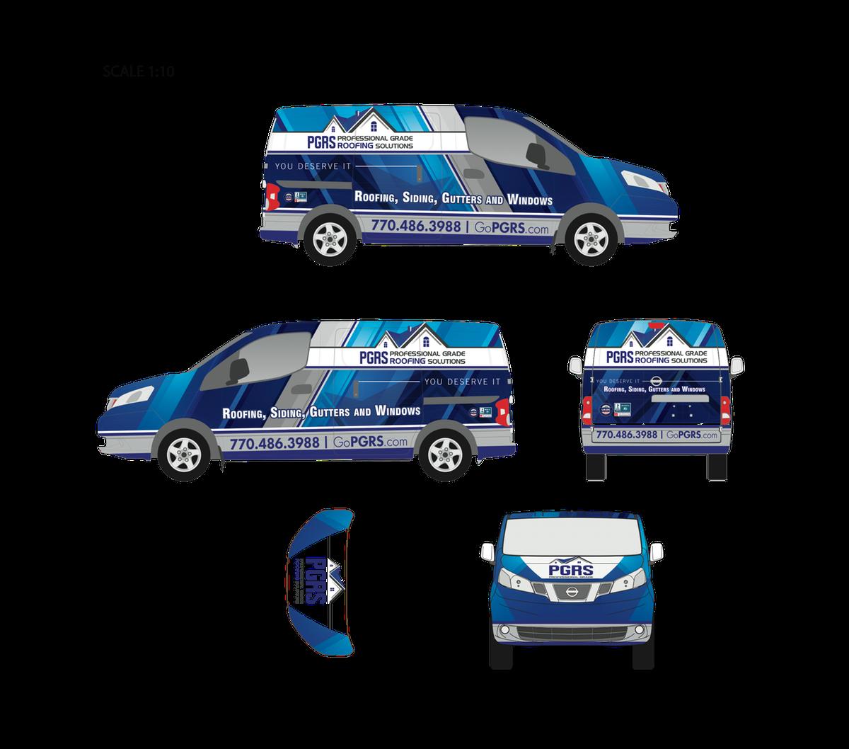 Nissan NV200  Full Wrap Design