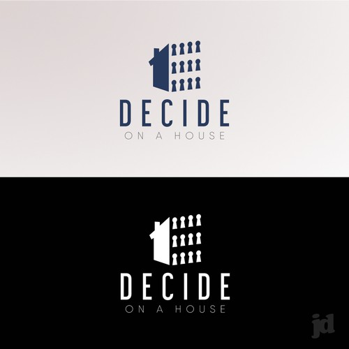 Logo for house buying app