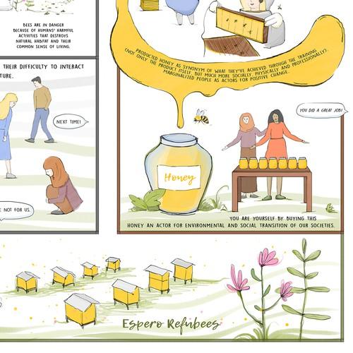 Illustration for non profit organization