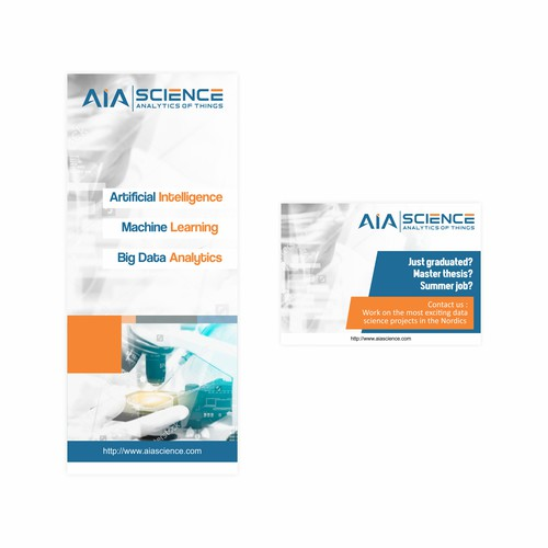both for recruitment and sales stands AIA Science