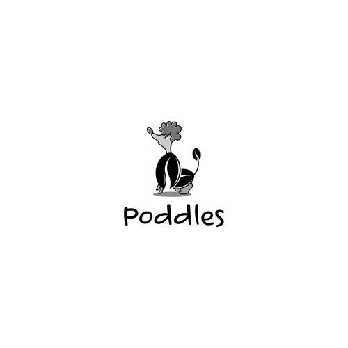 poddles logo concept