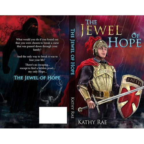 "Design an intriguing book cover for ""The Jewel Of Hope""!"