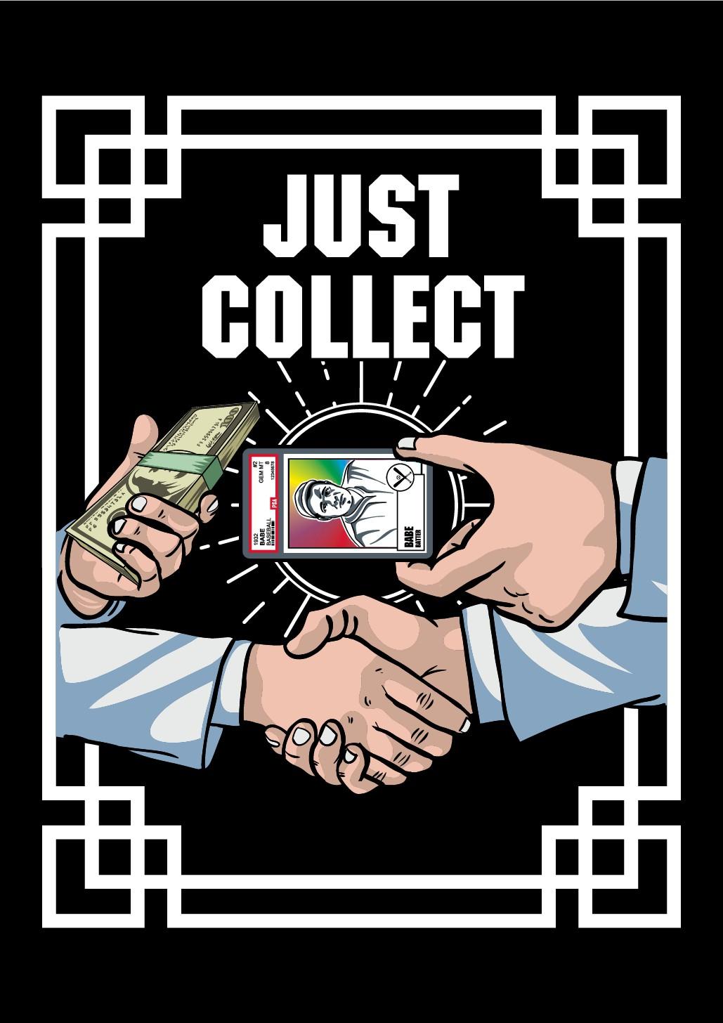 Cool T-shirt Design for Sports Card Collectors & Investors.