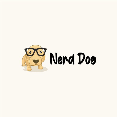 puppy character logos