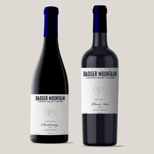 Wine Label organic wine