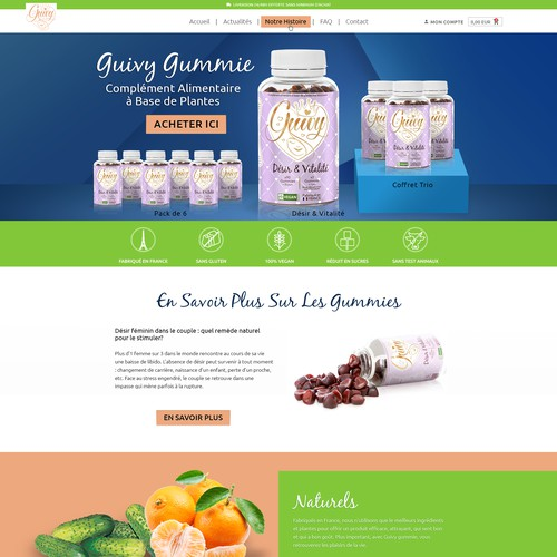 Supplements Website