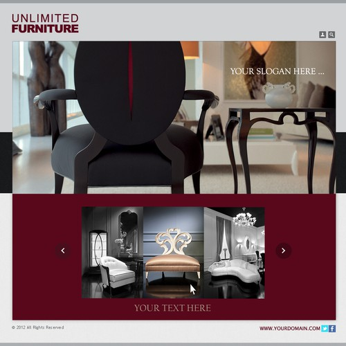Unlimited Furniture Group needs a new banner ad
