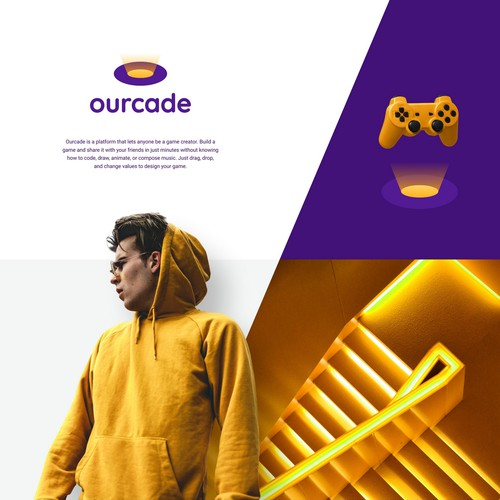 Creative & Unique Logo for Ourcade!
