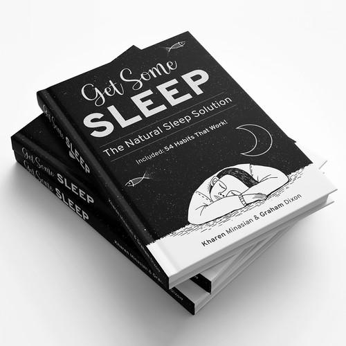 Book Cover Design - Sleeping