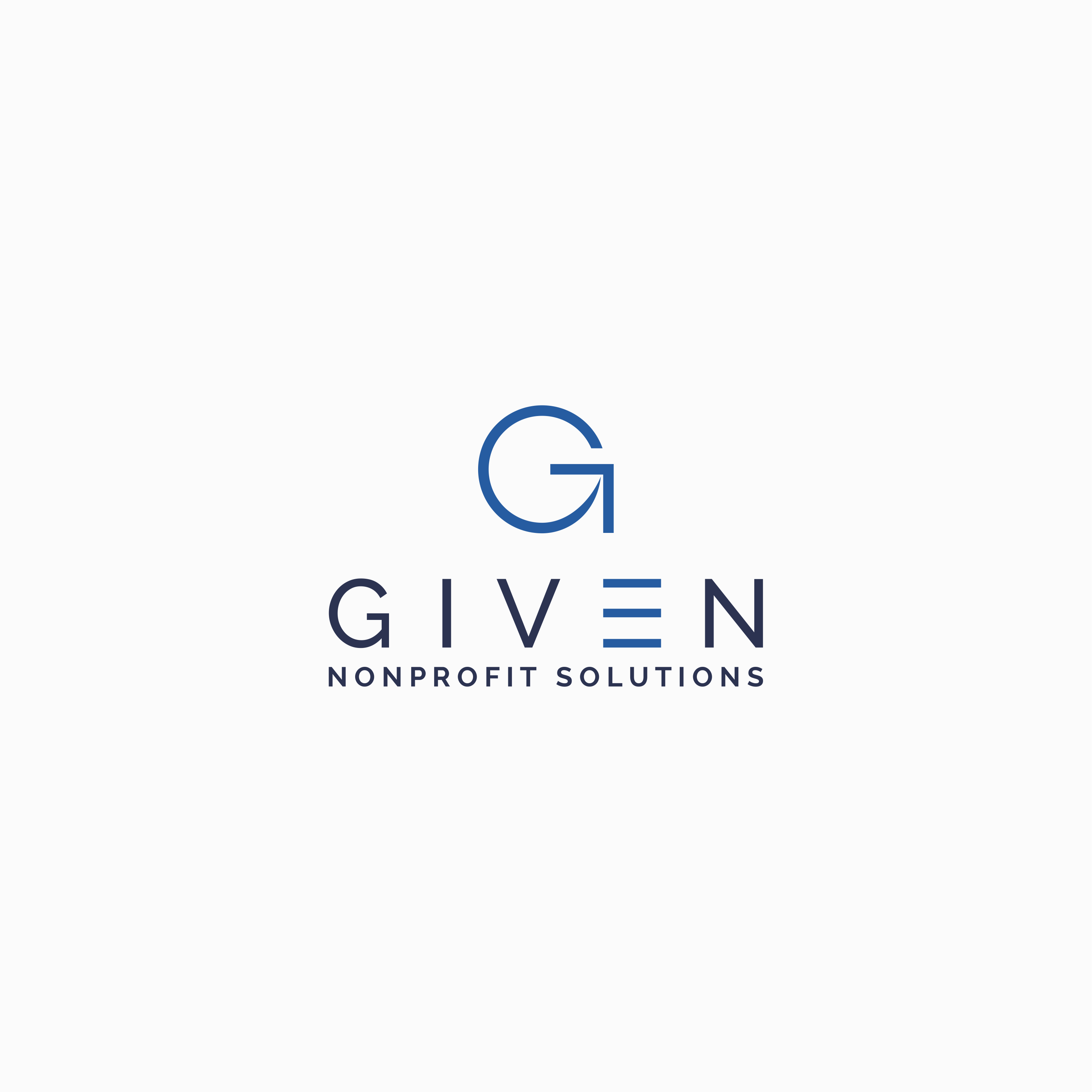 """""""Given Nonprofit Solutions"""" seeks logo design that blends precision with warmth"""