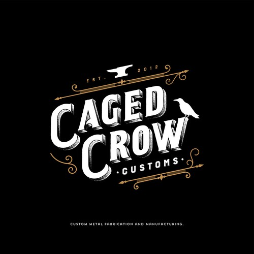 Caged Crow Customs