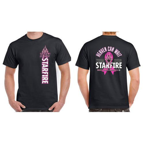Design for Breast Cancer Awareness 5k