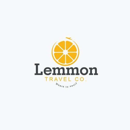 Lemmon Travel Co. Logo Concept