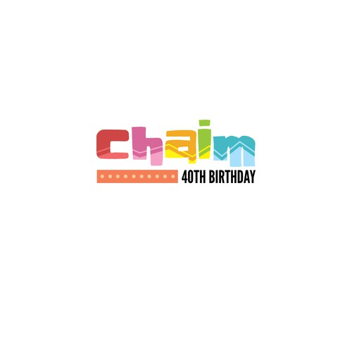 Logo Design for 40th Birthday Celebration