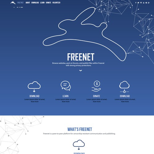 freenet website design