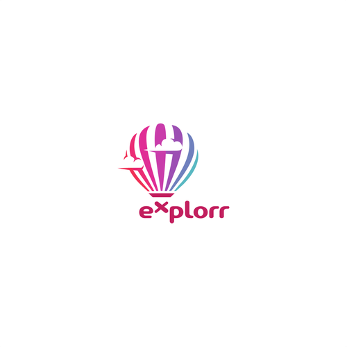 Concept for Explorr Logo Project.