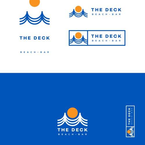 Logo and branding exploration for beach bar