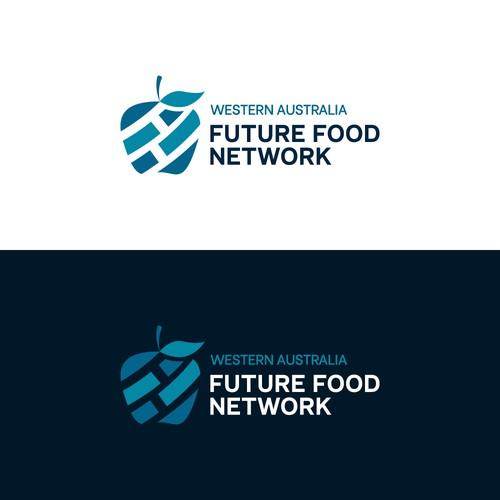 Future Food Network Concept Logo