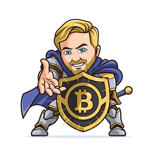 knight character logo